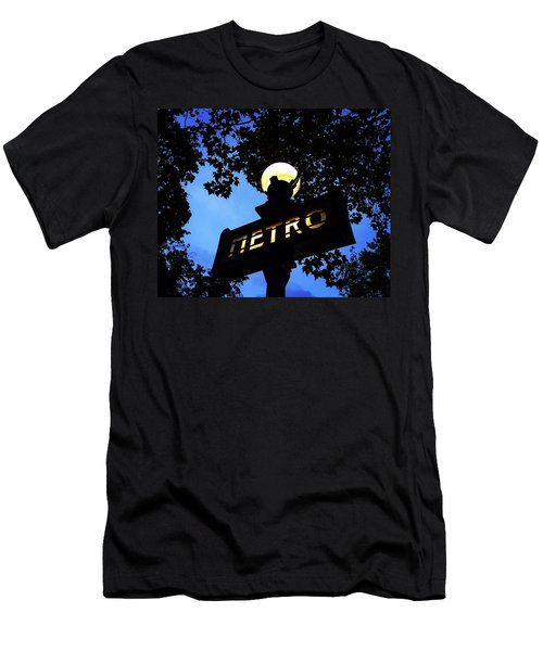Night Ride Men's T-Shirt (Athletic Fit)