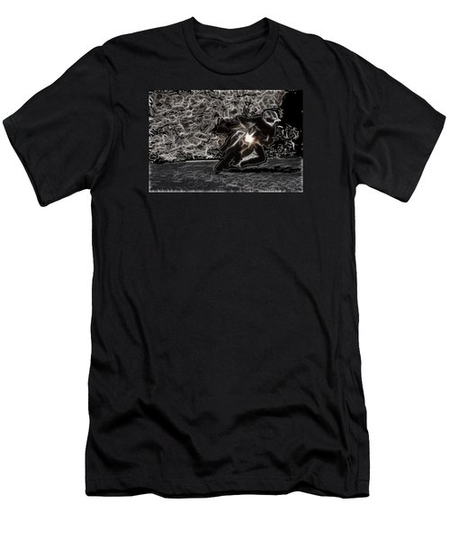 Night Rider Men's T-Shirt (Slim Fit) by Maciek Froncisz