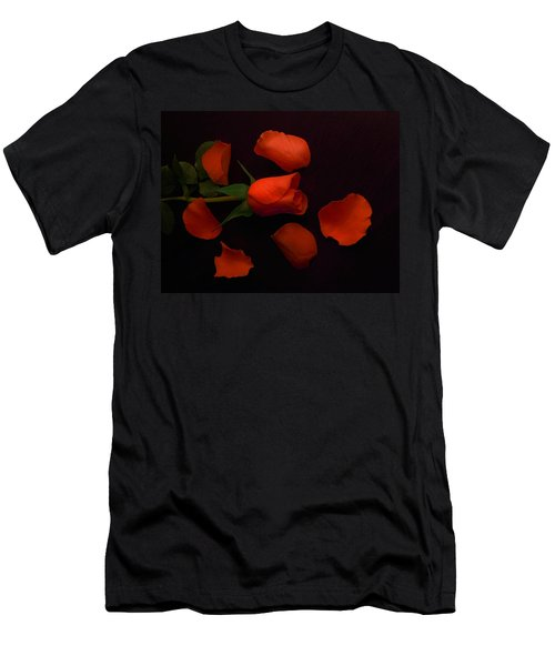 Night Rose 2 Men's T-Shirt (Athletic Fit)