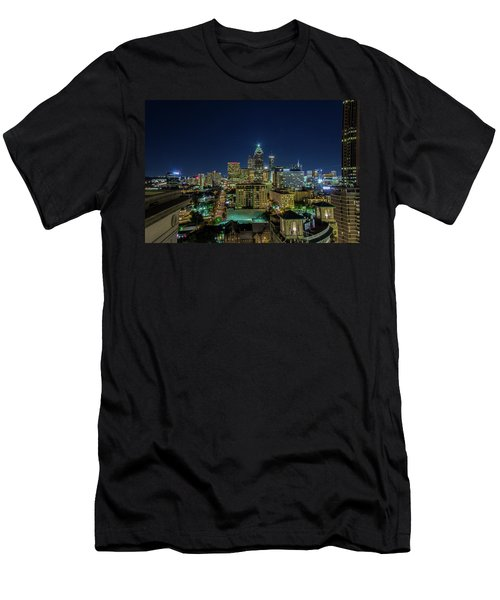 Night View 2 Men's T-Shirt (Athletic Fit)