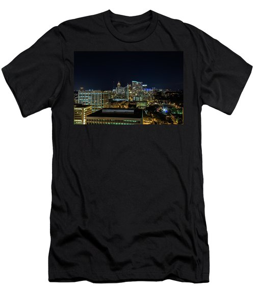 Night View  Men's T-Shirt (Athletic Fit)
