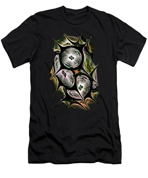 Night Vision Men's T-Shirt (Slim Fit) by Anastasiya Malakhova