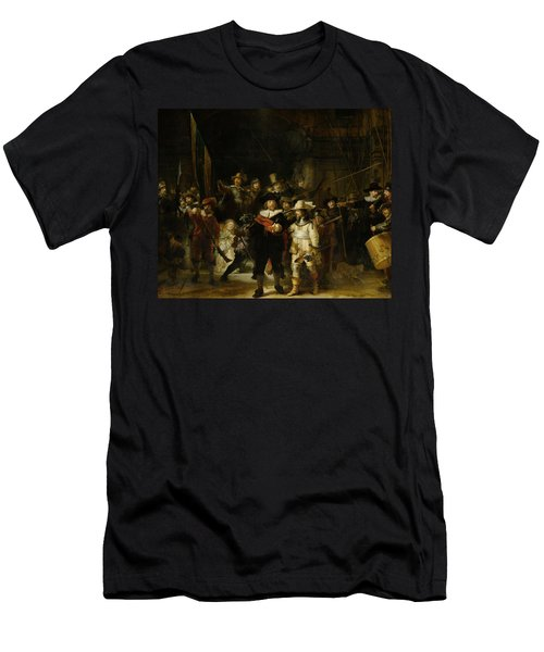 Night Watch, 1642 Men's T-Shirt (Athletic Fit)