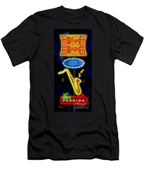 Nightclub Sign Boom Boom Room Men's T-Shirt (Athletic Fit)