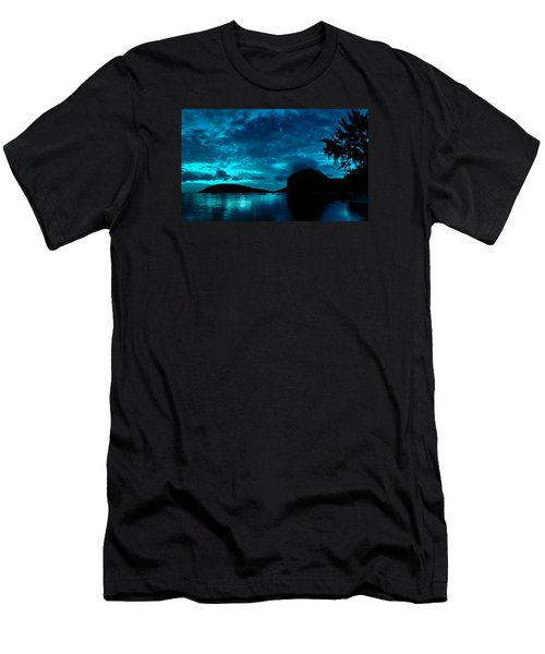 Nightfall In Mauritius Men's T-Shirt (Athletic Fit)