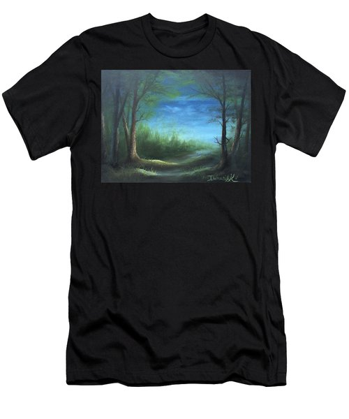Nightfall In The Boggs  Men's T-Shirt (Athletic Fit)