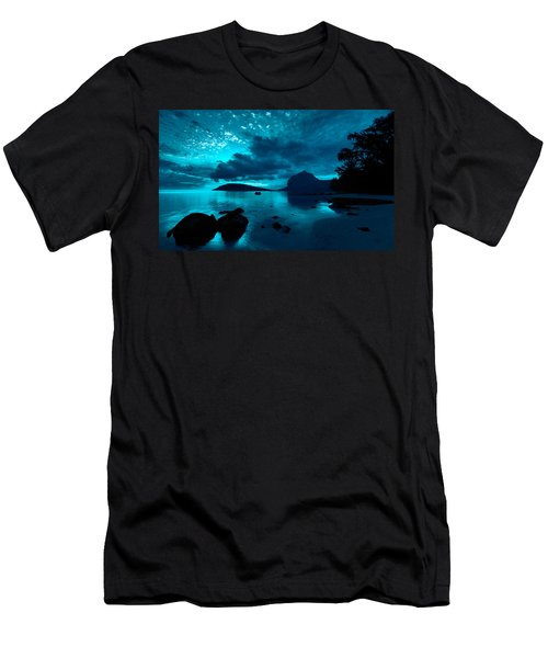 Nightfall Near Le Morne Men's T-Shirt (Athletic Fit)