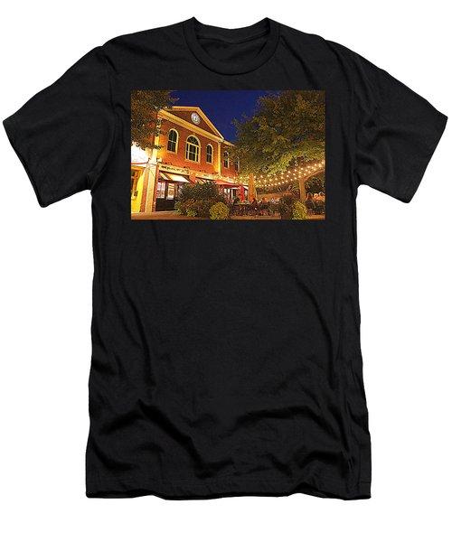 Nightime In Newburyport Men's T-Shirt (Athletic Fit)