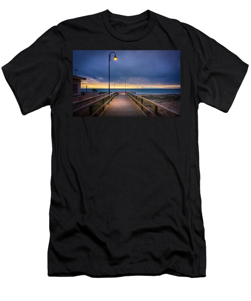 Nighttime Walk. Men's T-Shirt (Athletic Fit)