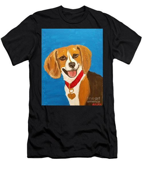Niki Date With Paint Nov 20th Men's T-Shirt (Athletic Fit)