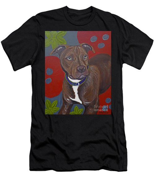 Niko The Pit Bull Men's T-Shirt (Athletic Fit)