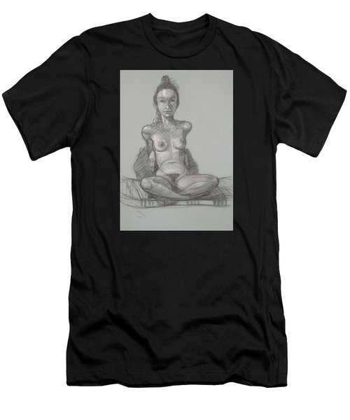 Nina Seated Men's T-Shirt (Athletic Fit)