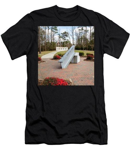 Nine Eleven Memorial Men's T-Shirt (Athletic Fit)