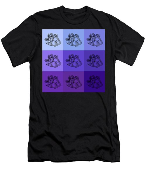 Nine Shades Of Blueberries Men's T-Shirt (Athletic Fit)