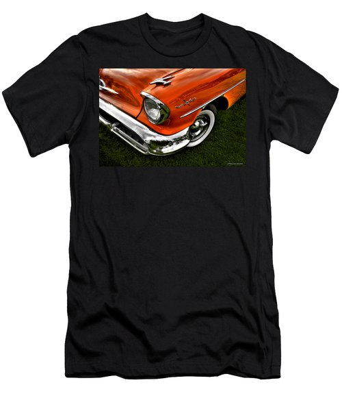 Nintey Eight Men's T-Shirt (Slim Fit) by Jerry Golab