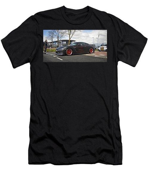 Nissan Gt-r Men's T-Shirt (Athletic Fit)