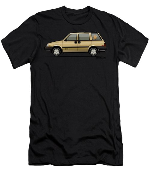 Nissan Stanza / Prairie 4wd Wagon Gold Men's T-Shirt (Athletic Fit)