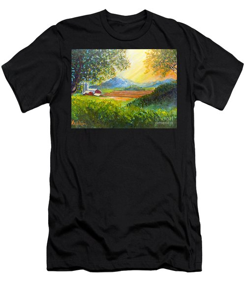 Nixon's Majestic Farm View Men's T-Shirt (Athletic Fit)