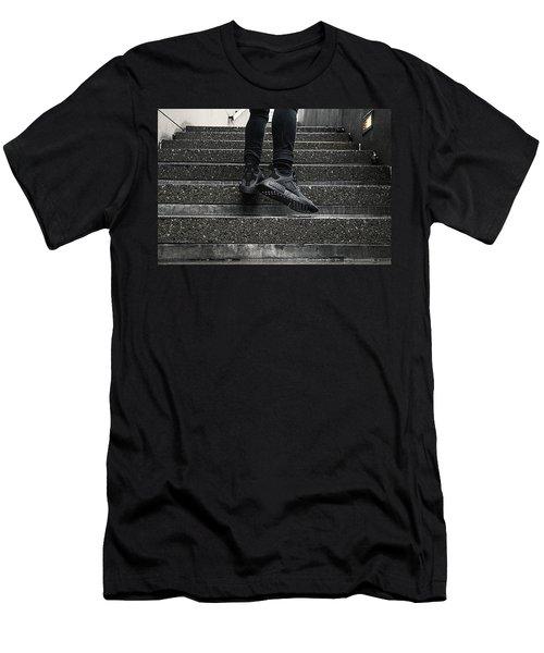 Nmd Xr1 Triple Black Men's T-Shirt (Athletic Fit)