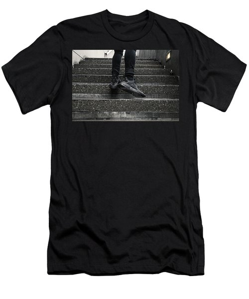 Nmd Xr1 Triple Black Men's T-Shirt (Athletic Fit)