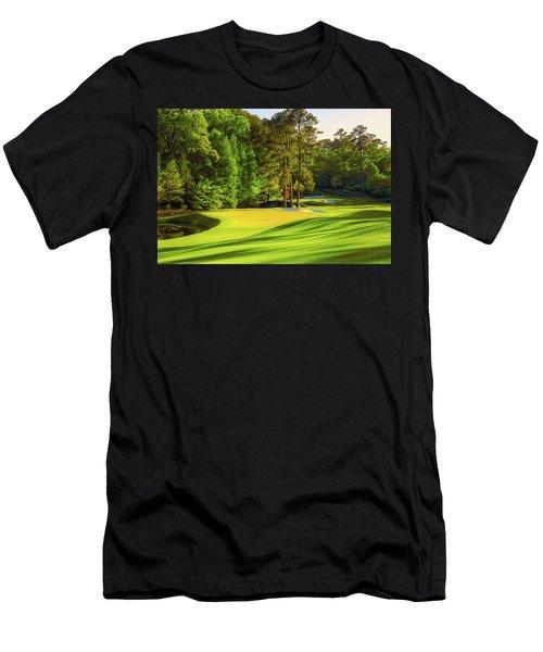 No. 11 White Dogwood 505 Yards Par 4 Men's T-Shirt (Athletic Fit)