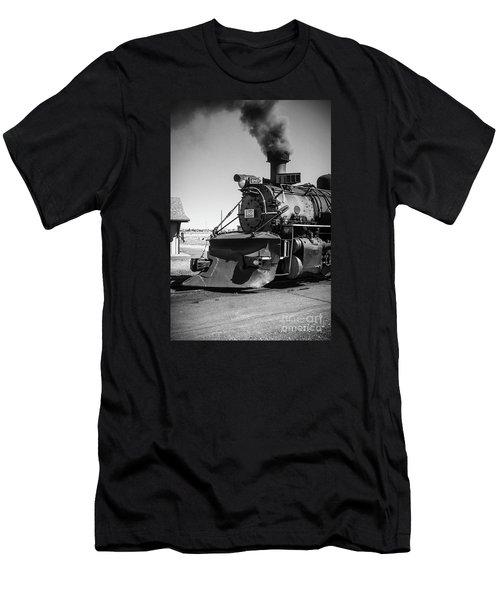 No. 489 Engine Men's T-Shirt (Athletic Fit)