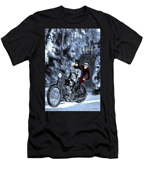 No Catwoman, This Is Not A Date Men's T-Shirt (Athletic Fit)