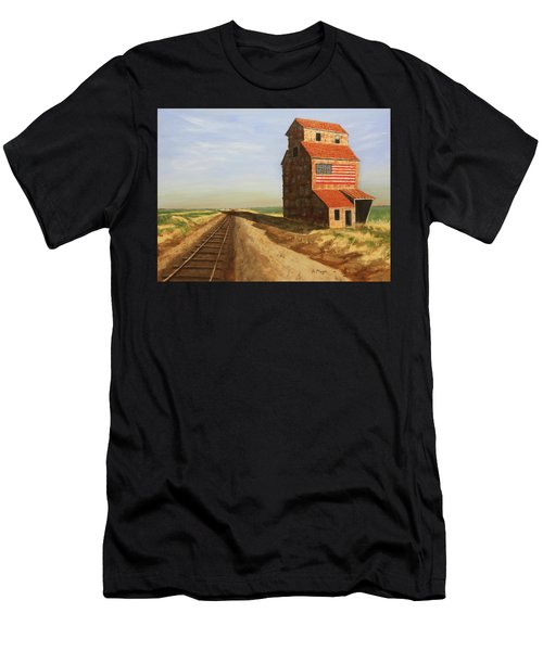 No Grain, No Train Men's T-Shirt (Athletic Fit)