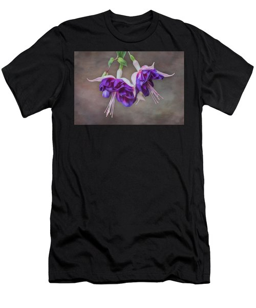 Purple Fuchsia Men's T-Shirt (Athletic Fit)