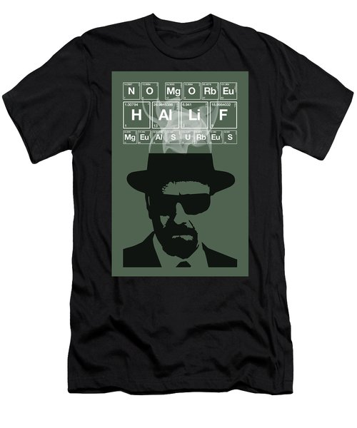 No More Half Measures - Breaking Bad Poster Walter White Quote Men's T-Shirt (Athletic Fit)