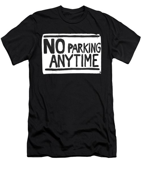 No Parking Men's T-Shirt (Slim Fit) by H James Hoff