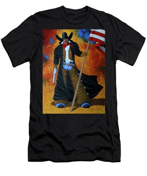 No Trespassing Men's T-Shirt (Slim Fit) by Lance Headlee