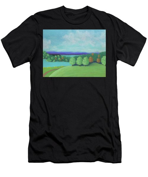 No Wonder He Lived Here Men's T-Shirt (Athletic Fit)