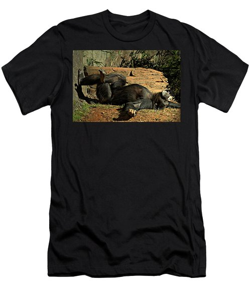 Men's T-Shirt (Slim Fit) featuring the photograph No Worries by Jessica Brawley