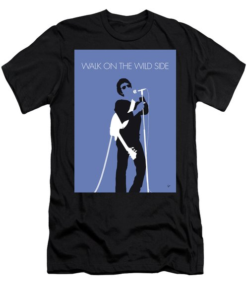 No068 My Lou Reed Minimal Music Poster Men's T-Shirt (Athletic Fit)