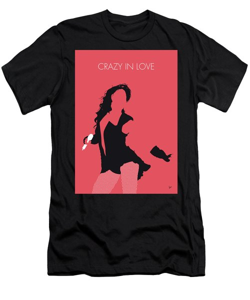 No122 My Beyonce Minimal Music Poster Men's T-Shirt (Athletic Fit)