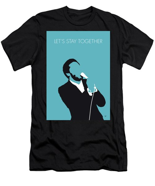 No135 My Al Green Minimal Music Poster Men's T-Shirt (Athletic Fit)