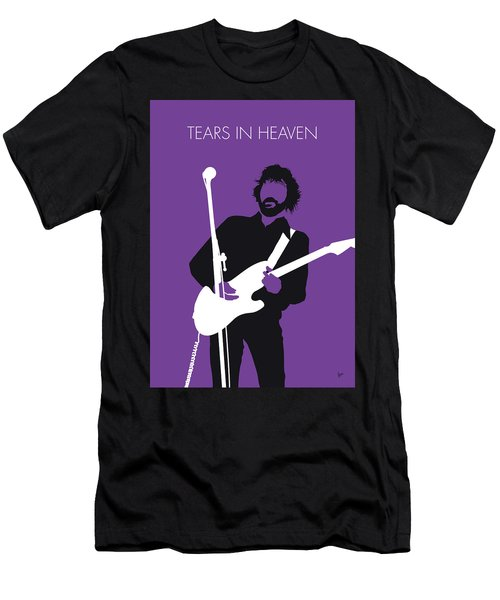 No141 My Eric Clapton Minimal Music Poster Men's T-Shirt (Athletic Fit)