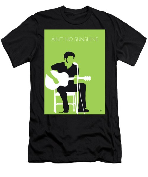 No156 My Bill Withers Minimal Music Poster Men's T-Shirt (Athletic Fit)