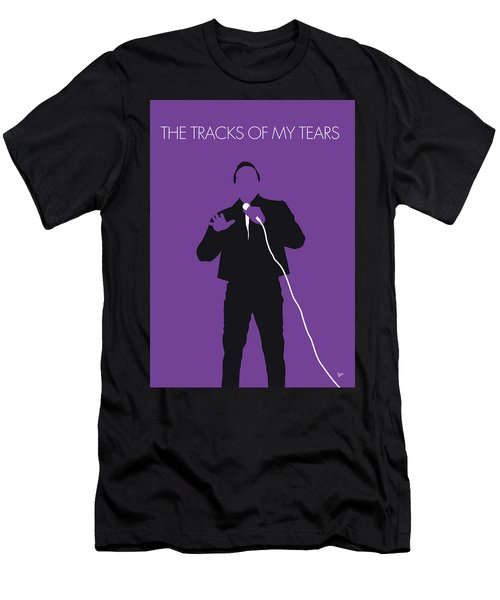 No161 My Smokey Robinson Minimal Music Poster Men's T-Shirt (Athletic Fit)
