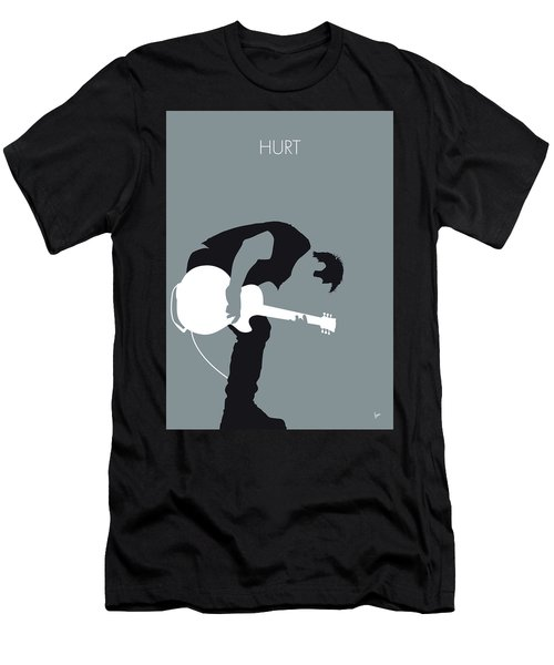 No197 My Nine Inch Nails Minimal Music Poster Men's T-Shirt (Athletic Fit)