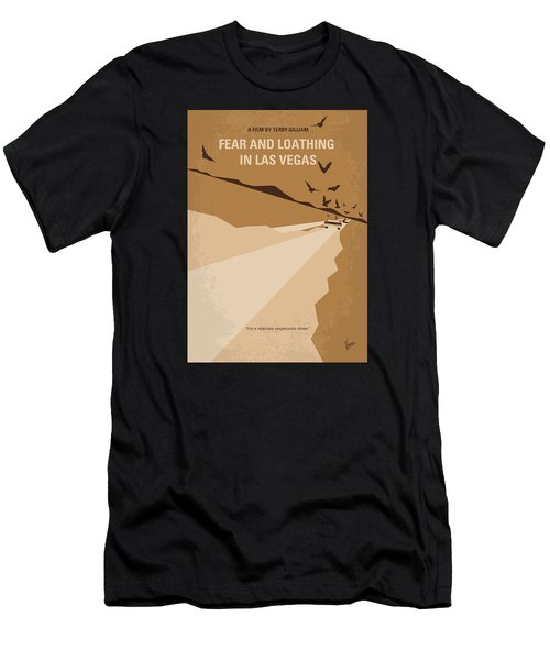 No293 My Fear And Loathing Las Vegas Minimal Movie Poster Men's T-Shirt (Athletic Fit)
