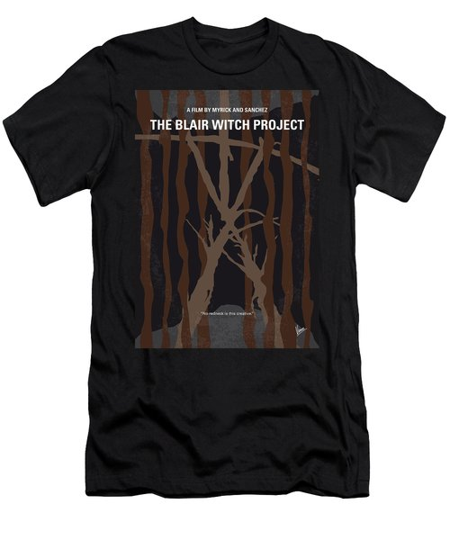 No476 My The Blair Witch Project Minimal Movie Poster Men's T-Shirt (Athletic Fit)