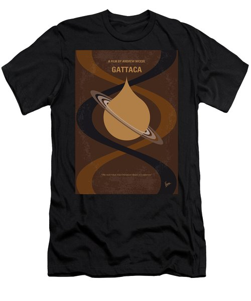 No588 My Gattaca Minimal Movie Poster Men's T-Shirt (Athletic Fit)