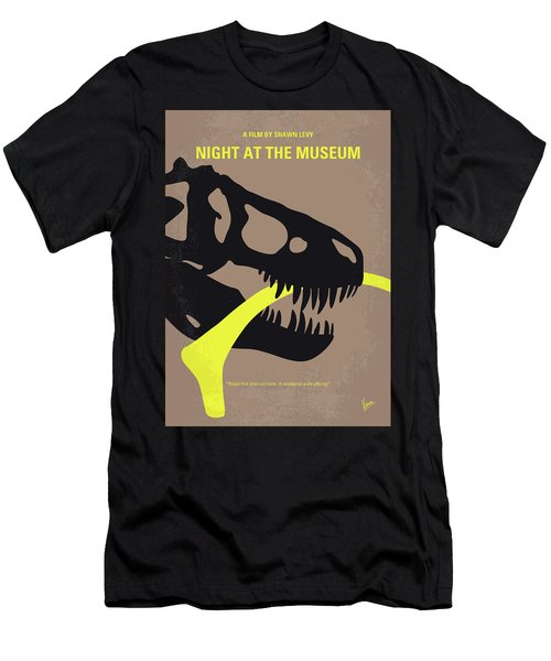 No672 My Night At The Museum Minimal Movie Poster Men's T-Shirt (Athletic Fit)