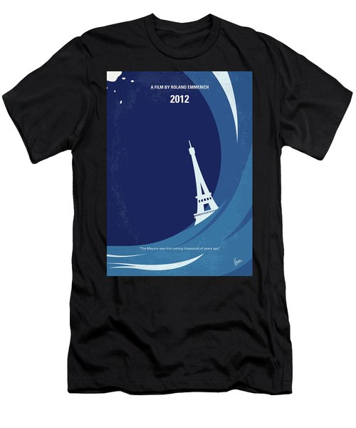 No709 My 2012 Minimal Movie Poster Men's T-Shirt (Athletic Fit)