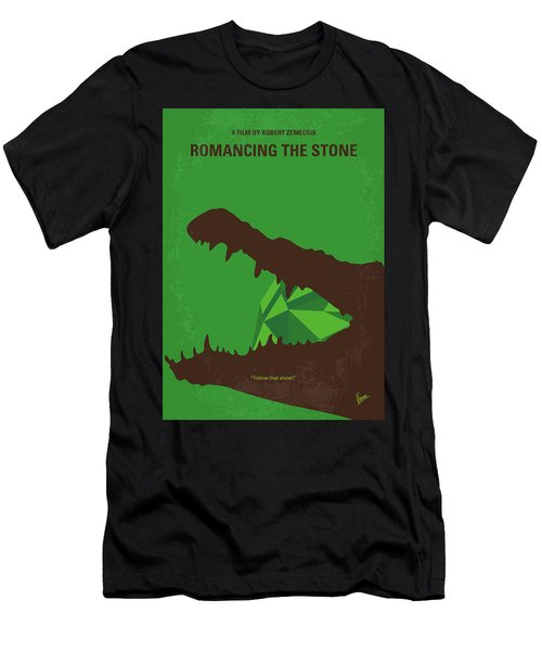 No732 My Romancing The Stone Minimal Movie Poster Men's T-Shirt (Athletic Fit)