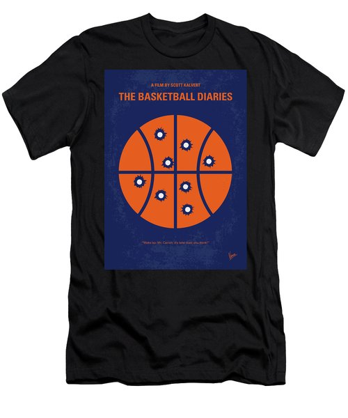 No782 My The Basketball Diaries Minimal Movie Poster Men's T-Shirt (Athletic Fit)