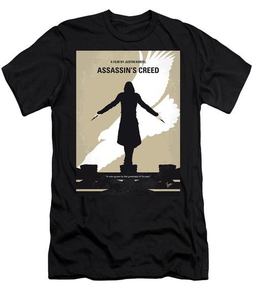 No798 My Assassins Creed Minimal Movie Poster Men's T-Shirt (Athletic Fit)