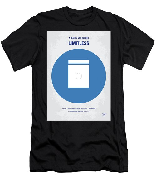 No828 My Limitless Minimal Movie Poster Men's T-Shirt (Athletic Fit)